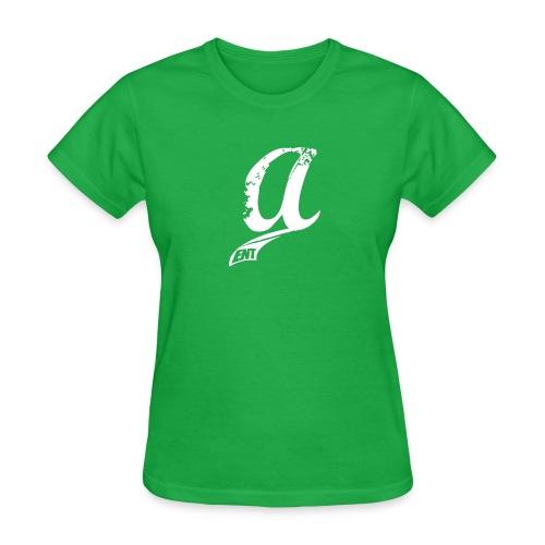 Already & Sleepy Logo White - Women's T-Shirt
