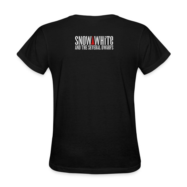 snow white logo bw