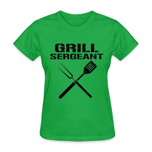 Trend Grill Sergeant Shirt - Women's T-Shirt