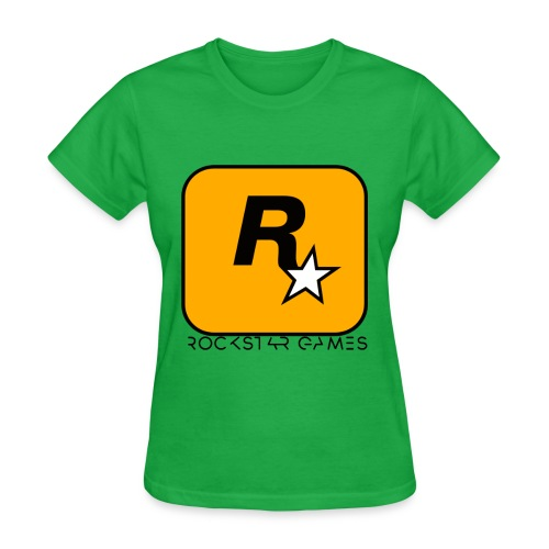 Custom Rockstar Logo - Women's T-Shirt