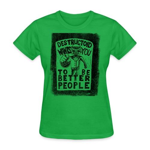 Destructoid Wants You - Women's T-Shirt