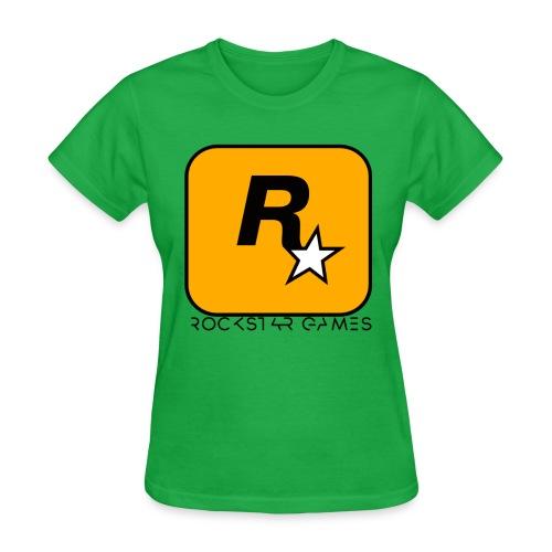 Custom Rockstar Logo - Women's T-Shirt