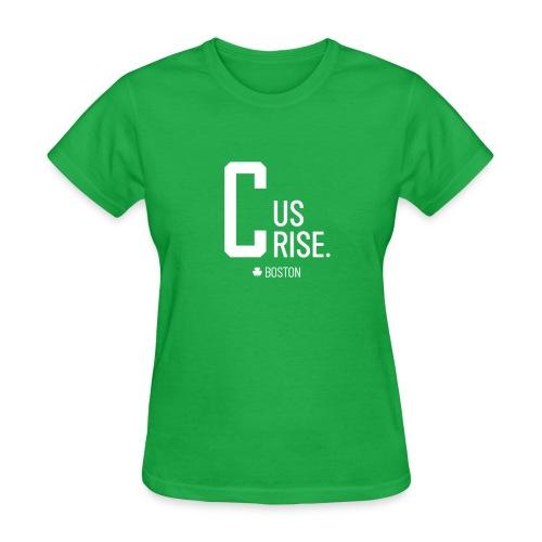 C Us Rise Boston Basketball TShirt - Women's T-Shirt