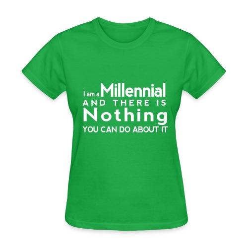 Millennial Pride - Women's T-Shirt