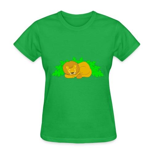 Sleeping Lion - Women's T-Shirt