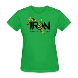 Pouncing Cheetah Iran supporters shirt - Women's T-Shirt