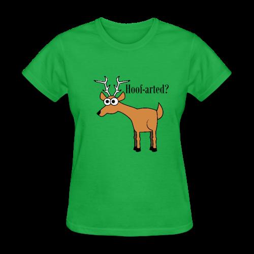 Hoof-arted? - Women's T-Shirt