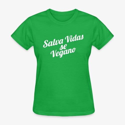 SalvaVidasSeVegano - Women's T-Shirt