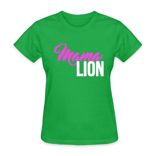 Mama Lion - Women's T-Shirt