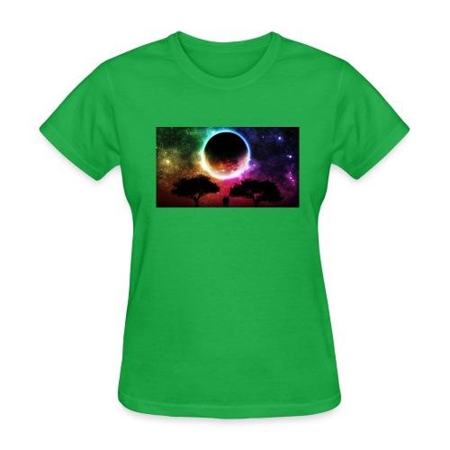 rainbow sky beautiful pictures 19401741 1093 614 - Women's T-Shirt