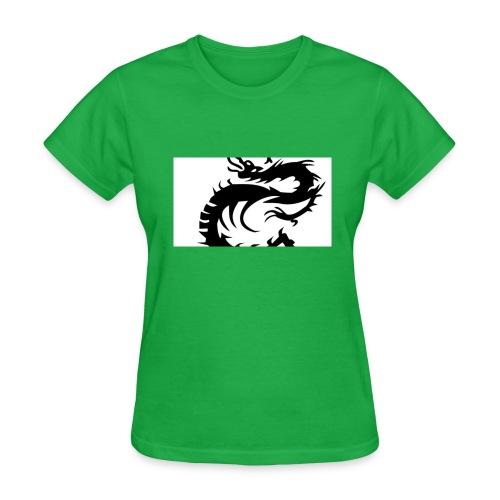 Tired Dragon - Women's T-Shirt