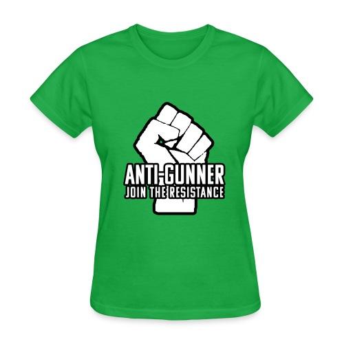 anti-gunner join the resistance - Women's T-Shirt