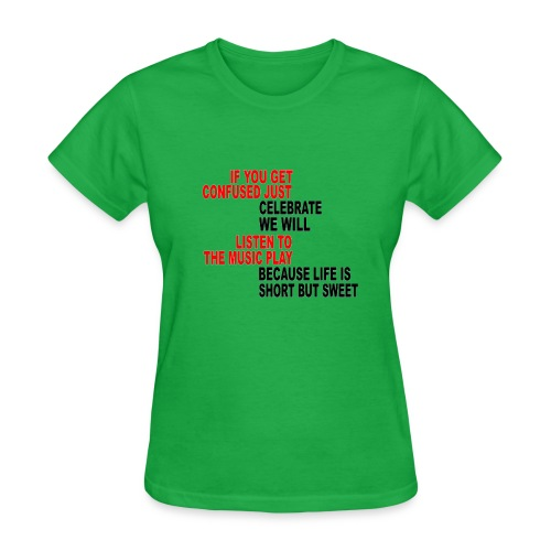 Franklin's Two Step - Women's T-Shirt