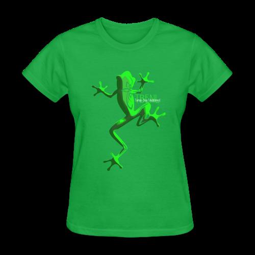 lighter w/white font - Women's T-Shirt