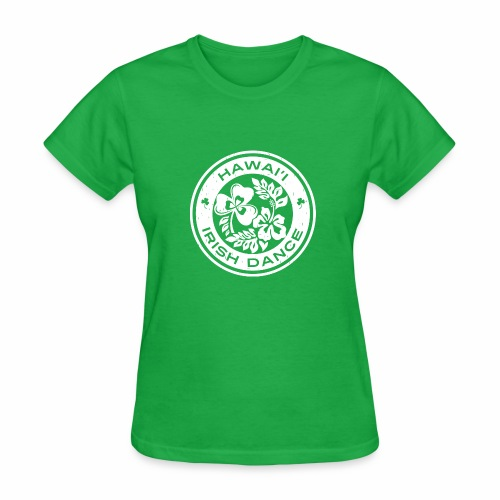 Hawaii Irish Dance Logo Distressed - Women's T-Shirt