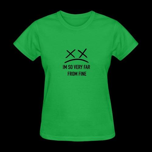 NOT FINE X^X - Women's T-Shirt