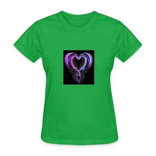 dragons love/ jigsaw master35 - Women's T-Shirt