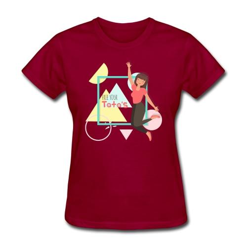 Free your tatas - Women's T-Shirt