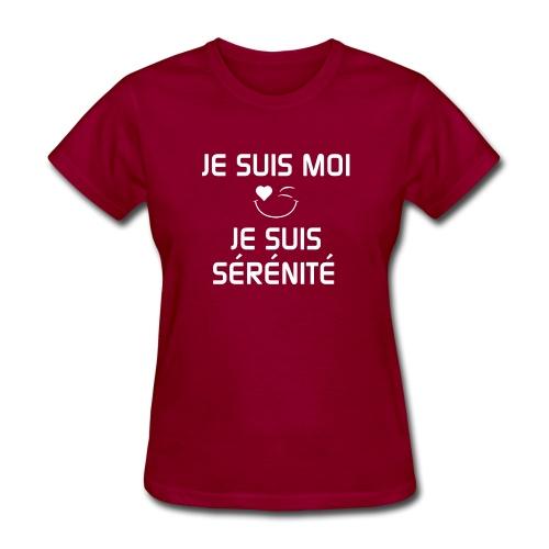 JeSuisMoiJeSuisSerenite - Women's T-Shirt