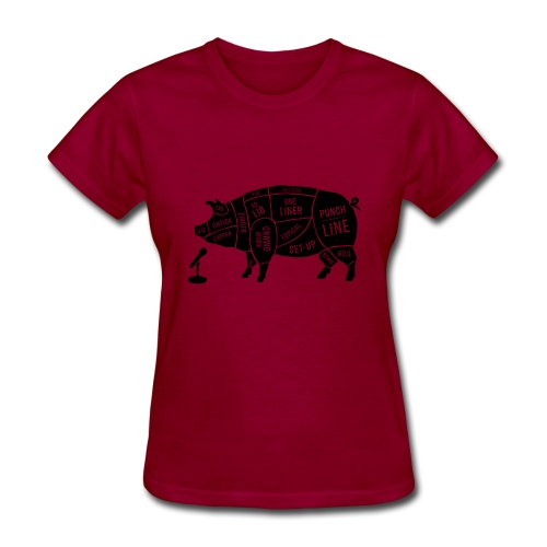 Black Pig - Women's T-Shirt