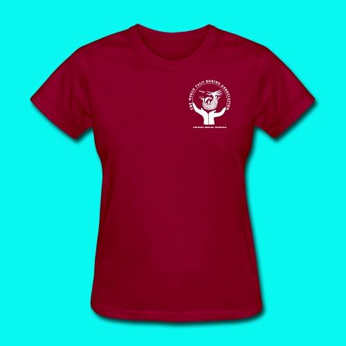 WTBA LOGO White - Women's T-Shirt