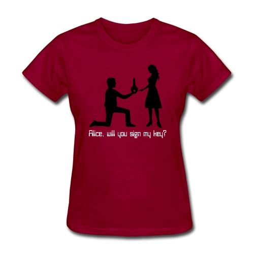 The Proposal - Women's T-Shirt