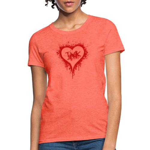 I Love Ink_red - Women's T-Shirt