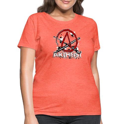 Artheist - Women's T-Shirt