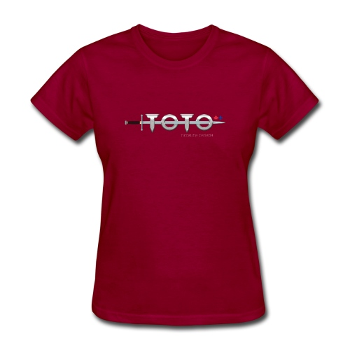 TOTO Tribute Canada (White Name) - Women's T-Shirt