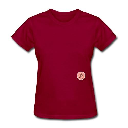 WordsLogoRevisedPink png - Women's T-Shirt