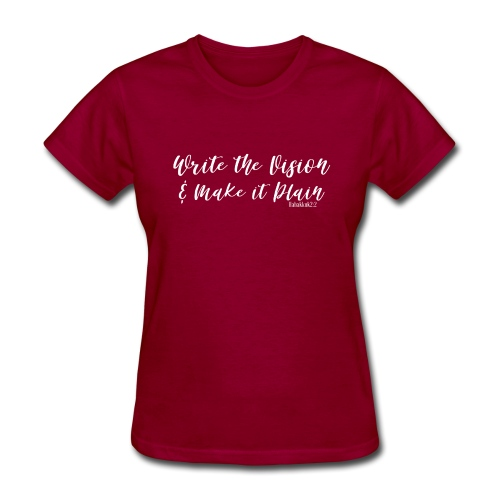 WRITE THE VISION AND MAKE IT PLAIN-SHELLY SHELTON - Women's T-Shirt