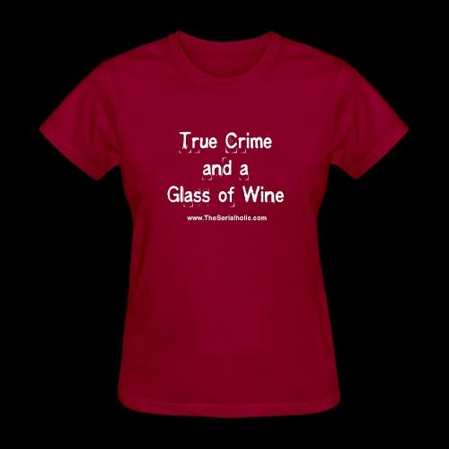 GlassOfWine - Women's T-Shirt