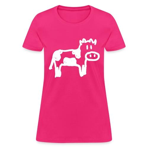 Cow - Reverse - Women's T-Shirt