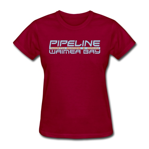 Pipeline Waimea Bay - North Shore, Oahu, Hawaii - Women's T-Shirt