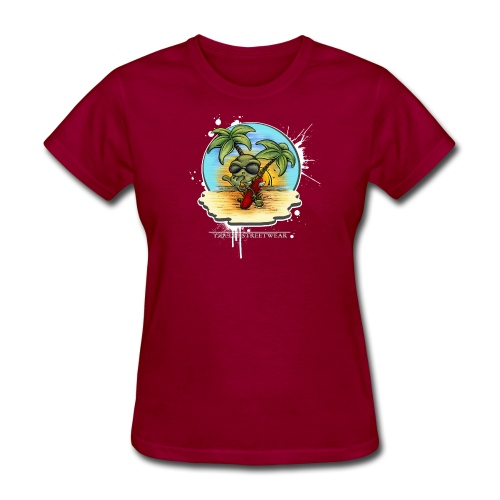 let's have a safe surf home - Women's T-Shirt