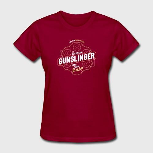 Gunslinger Class Fantasy RPG Gaming - Women's T-Shirt
