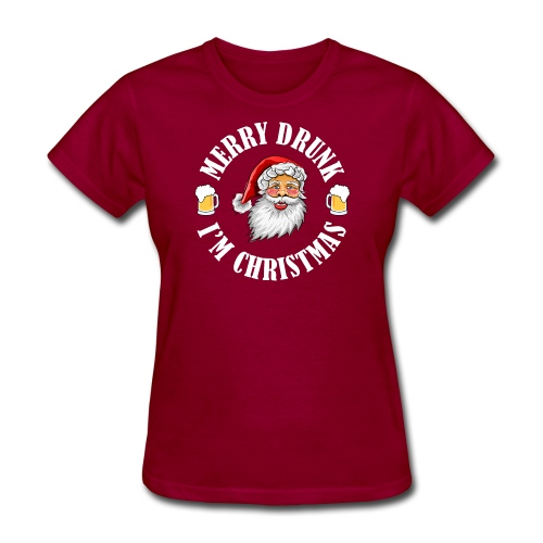 MERRY DRUNK I'M CHRISTMAS WV - Women's T-Shirt
