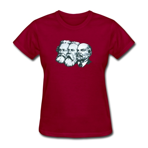 Marx, Engels and Lenin - Women's T-Shirt