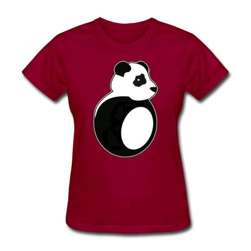 Tan Panda - Women's T-Shirt