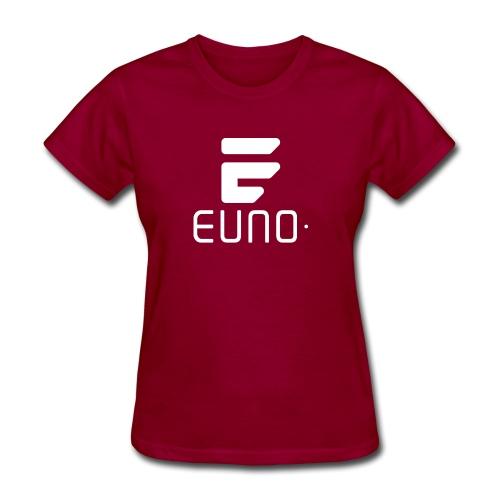 EUNO LOGO POTRAIT WHITE - Women's T-Shirt