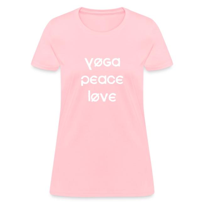 Yoga Peace Love