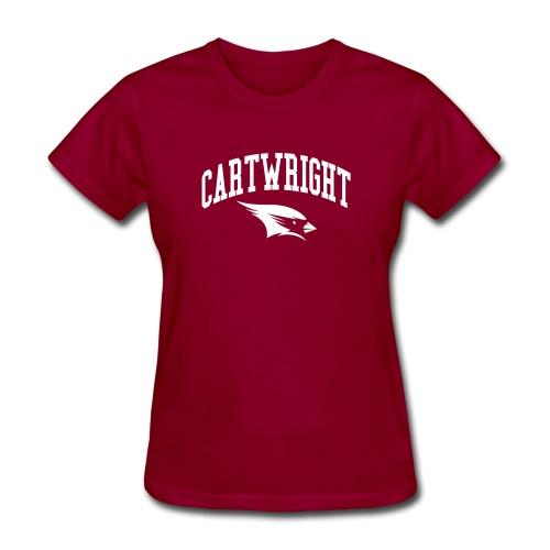 Cartwright College Logo - Women's T-Shirt