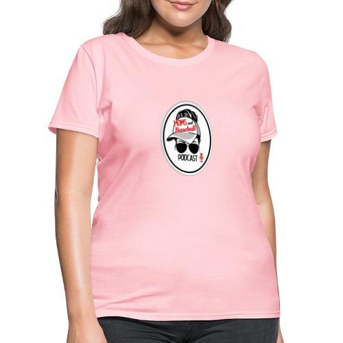 Moms and Baseball - Women's T-Shirt