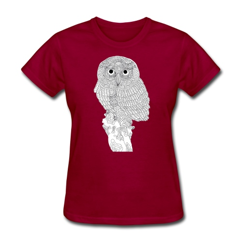 Owl Design - Women's T-Shirt