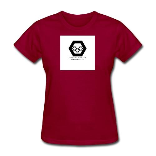 Proton sciences logo - Women's T-Shirt