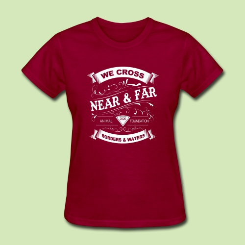 Vintage Near and Far - Women's T-Shirt