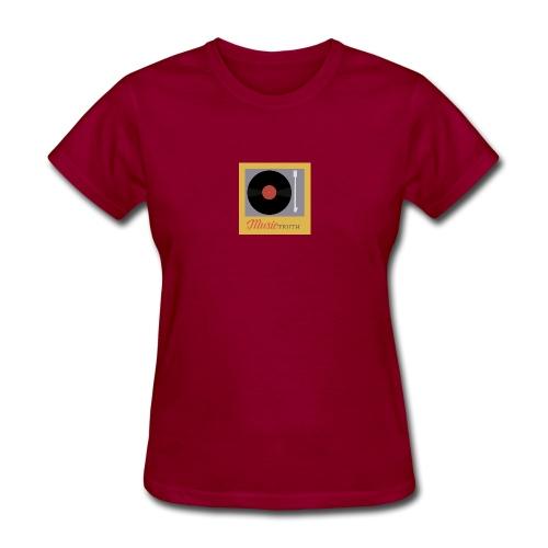 Music Truth Retro Record Label - Women's T-Shirt