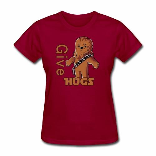 Give Hugs - Women's T-Shirt