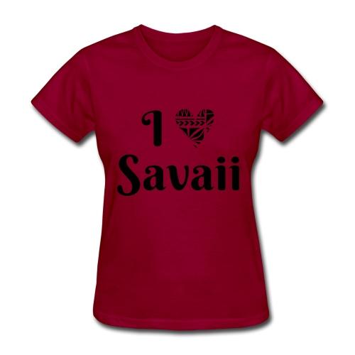 Savaii my love combo - Women's T-Shirt