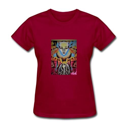 420 ART-TEE'S TITLE--ORGANIC CHILD - Women's T-Shirt